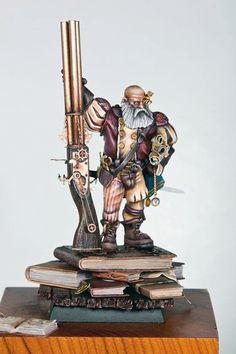 Warhammer FB | Empire | Empire Engineer with Hochland Long Rifle #warhammer…