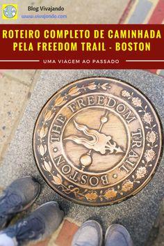 Roteiro Completo de Caminhada Pela FREEDOM TRAIL em Boston  Um guia completo para você seguir a pé pela Freedom Trail em Boston, atração por atração! Imprima o nosso guia gratuito em português que descreve brevemente cada ponto de parada desse passeio e veja a história despontar diante dos seus olhos!  Walking Tour Boston