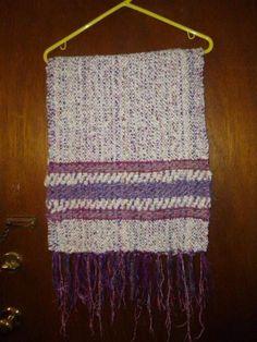 Womens Vintage Handwoven Wool Shawl or Large Scarf by BathoryZ