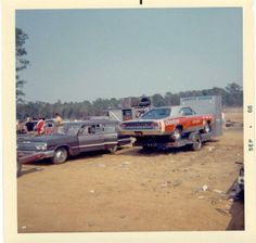 Vintage Race Car Haulers and Trailers