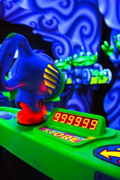 Astro Blasters, Tomorrowland one of our favorites and don't forget a little friendly family competition!