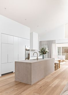Orton Haus — the palm co. Modern Kitchen Design, Interior Design Kitchen, Home Decor Kitchen, Home Kitchens, Interior Design Institute, Cocinas Kitchen, Minimalist Kitchen, Cuisines Design, Beautiful Kitchens