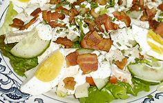 BLT CHICKEN SALAD - Linda's Low Carb Menus & Recipes