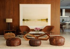love the oversized simple artwork ( FEATURE HOME: Home by Chinese Jesus )