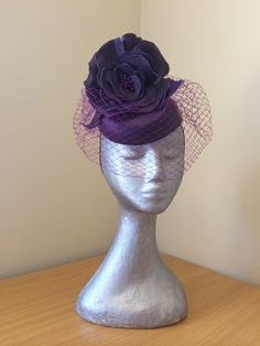 Gwendolyn by LEAH CASSIDY #millinery #HatAcademy #hats