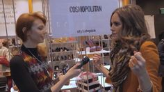 Louise Roe, celebrity stylist, at stylistpick.com pop up shop: The Muse TV, via YouTube.