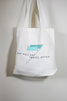 Eat Well Travel Often Tote