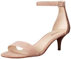 Amazon.com: Nine West Women's Leisa Suede Heeled Sandal: Shoes