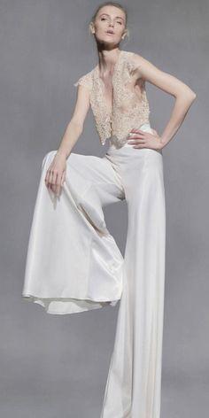 Bridal Jumpsuit 2019 جامبسوت لعروس 2019 Weddings Wedding