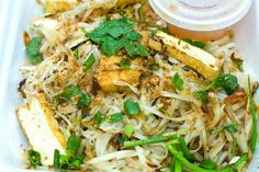 Pad Thai - A standard Thai rice noodle dish. Using very flavorful ingredients that have become easy to find in your local supermarkets. The Tamarind Juice adds a unique flavor. Enjoy as a meal or as a side dish.  Get this recipe by clicking on the link below: http://ow.ly/s9hs301pmrw