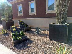 Contemporary corten trough planters by Nice Planter LLC. Trough Planters, Corten Steel Planters, Desert Climate, Contemporary, Nice, Plants, Flora, Plant