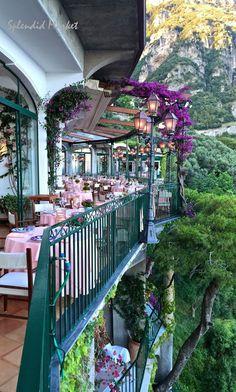 SPLENDID MARKET : Hotel Il San Pietro di Positano, Amalfi, Italy....