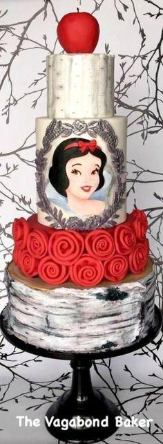 Hoje vamos mostrar ideias de bolos para Festa Branca de Neve!!  Tem muito mais inspiração na nossa galeria no Pinterest  Imagens  Pinteres...
