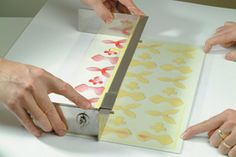make your own chocolate transfer sheets