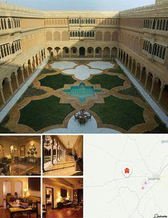 L'hotel è situato a Jaisalmer, in zona Kahala Phata Sam Road. Il centro di Jaisalmer e le sue attrazioni sono facilmente raggiungibili dalla struttura. L'hotel sorge su un terreno desertico nei pressi del palazzo Nathmalji-ki-Haveli e del forte di Jaisalmer. L'aeroporto dista 10 km, la stazione ferroviaria 14 km.