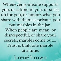 Relational self care thoughts from Brene Brown. #selfcare