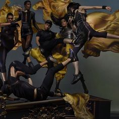 NIKE LAB X OLIVIER R.  #goldenteam #dreamteam shot for @dazed by @nick_knight styled by @robbiespencer  #champions #proudofmynewcollab