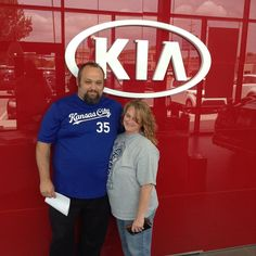 Congratulations to David and Kellie on purchasing your brand new Kia Optima from Lawrence Kia!!! We appreciate your business!! Please refer me Chris Schmidt to your Family and Friends!!!