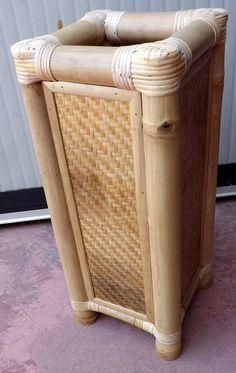 Porta+ombrelli+in+Bamboo.Color+naturale.Arreda+la+tua+casa+con+qualcosa+di+esclusivo%21%21%21Realizzato+completamente+a+manoCM+60x25x25+CIRCA
