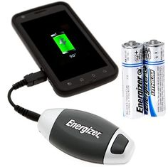 Energizer Energi to Go Portable Micro/Mini USB Charger +2 Energizer