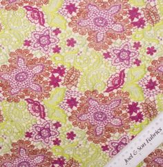 For four generations Joel & Son have specialised in the highest quality fabrics and dress making materials. Pretty Green, Green And Purple, Purple Lace, Floral Lace, Buy Fabric Online, Lace Print, Printed Linen, Linen Fabric, Dress Making
