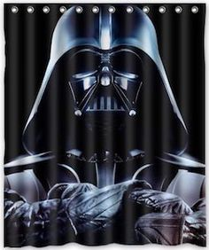 Star Wars Darth Vader Shower Curtain use instead of closet doors