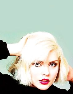 Portrait of Blondie singer Debbie Harry, United States, 1979, photograph by…