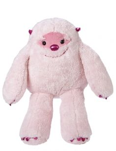 Justice Pink Yeti 20 Inch Plush. So adorable!