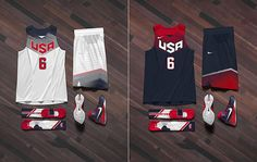 TeamUSA unveiled their new jerseys ahead of the FIBA Basketball World Cup: