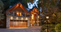 Check out the photos of this incredible listing in Whistler, which includes triple-height-plus ceilings and all the luxuries you could desire