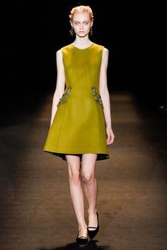 Alberta Ferretti Fall 2013 Ready-to-Wear Fashion Show - Sasha Luss