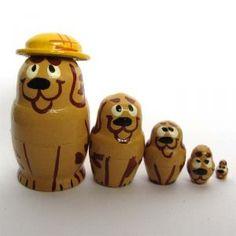 Dogs - Nesting Dolls