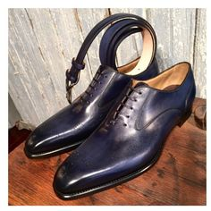 ToBoxm- MTO, Navy oxfords with matching belt… (at ToBox || Men's Footwear || Accessories)