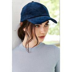 Silence + Noise Corduroy Baseball Hat ($24) ❤ liked on Polyvore