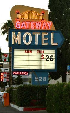 Gateway Motel in Las Vegas, Nevada