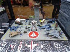 Air power & a Battloid