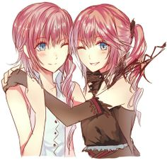 Serah and Lumina