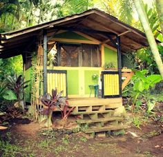 Little Cabin On Stilts In Puerto Rico Tiny Houses Pinterest