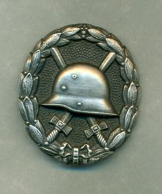 WW1 German Wound Badge Silver