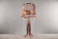 RETO Copper Table Lamp by Zapalgo on Etsy