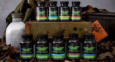 Marine Muscle Supplements