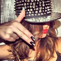 """Street Studded Hat... this does tug at my inner """"thug"""" ;)"""