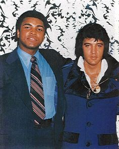 Muhammad Ali & Elvis Presley