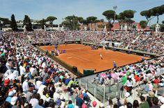 2015 - In Rome, at Pietrangeli's stadium, crowded with tennis fans under the italian sun. Internazionali BNL D'Italia 2015 #InternazionaliBNLdItalia  #ibi15 #SergioTacchini #Tennis