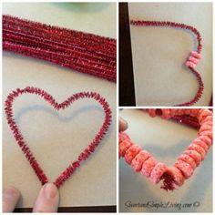 Preschool Valentine Crafts: Fruit