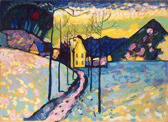 Winter Landscape I, 1909, Wassily Kandinsky