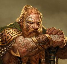 dwarf Fantasy Dwarf, Fantasy Art Men, Fantasy Races, High Fantasy, Fantasy Rpg, Fantasy Character Design, Character Inspiration, Character Art, Epic Characters