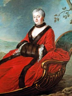 Circle of Donat Nonnotte (1708-1785): Portrait of a Lady traditionally identified as Marie Leszczyńska, Queen of France, 18th century.