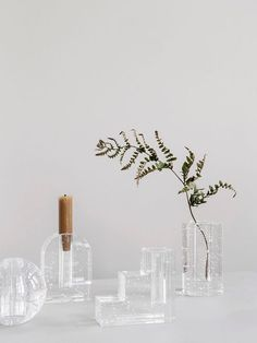 Buy Bubble Glass Vase from ferm LIVING. No matter if you use this as a vase or a candle holder, the Bubble Glass Objects create the illusion of time sta. Deco Zen, Pot A Crayon, By Lassen, Design Furniture, Luxury Furniture, Cabin Furniture, Western Furniture, Furniture Movers, Italian Furniture