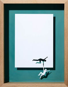 A4 Papercuts –  paper creations by Peter Callesen
